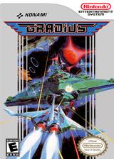 Gradius VC-NES cover (FARE)