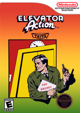Elevator Action VC-NES cover (FAWE)