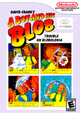 A Boy and His Blob: Trouble on Blobolonia VC-NES cover (FFEE)