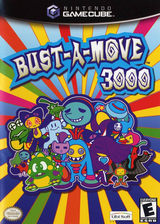 Bust-A-Move 3000 GameCube cover (G3SE41)