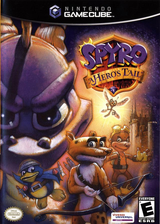 Spyro: A Hero's Tail GameCube cover (G5SE7D)