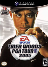 Tiger Woods PGA Tour 2005 GameCube cover (G5TE69)