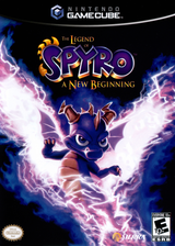 The Legend of Spyro: A New Beginning GameCube cover (G6SE7D)