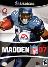 Madden NFL 07 GameCube cover (G7ME69)