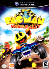 Pac-Man World Rally GameCube cover (G89EAF)