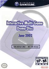 Interactive Multi-Game Demo Disc - June 2002 GameCube cover (G96E01)