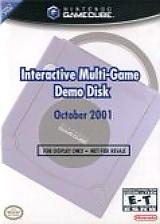 Interactive Multi-Game Demo Disc - October 2001 GameCube cover (G99E01)