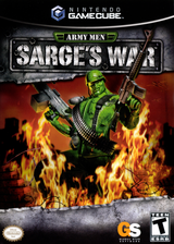 Army Men Sarges War GameCube cover (GAME5H)