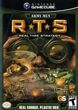 Army Men: RTS GameCube cover (GARE5H)