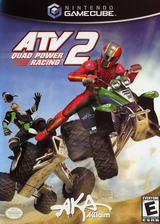 ATV Quad Power Racing 2 GameCube cover (GATE51)