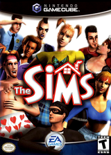 The Sims GameCube cover (GCIE69)