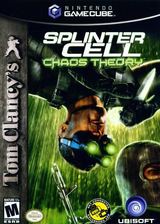Tom Clancy's Splinter Cell: Chaos Theory GameCube cover (GCJE41)