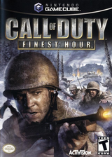 Call of Duty: Finest Hour GameCube cover (GCOE52)