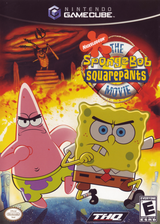 SpongeBob SquarePants: The Movie GameCube cover (GGVE78)