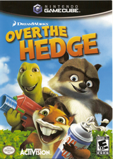 Over The Hedge GameCube cover (GH5E52)