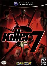 Killer7 GameCube cover (GK7E08)