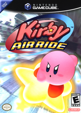 Kirby Air Ride GameCube cover (GKYE01)