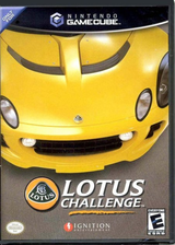 Lotus Challenge GameCube cover (GLUE7U)