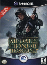 Medal of Honor: Frontline GameCube cover (GMFE69)