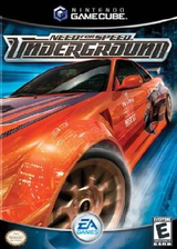 Need for Speed: Underground GameCube cover (GNDE69)
