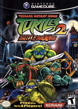 Teenage Mutant Ninja Turtles 2: Battle Nexus GameCube cover (GNIEA4)
