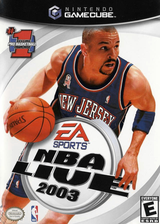 NBA Live 2003 GameCube cover (GNLE69)