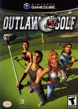 Outlaw Golf GameCube cover (GOFE7L)