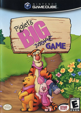 Piglet's Big Game GameCube cover (GPLE9G)