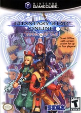 Phantasy Star Online Episode I & II GameCube cover (GPOE8P)