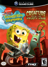 SpongeBob SquarePants: Creature from the Krusty Krab GameCube cover (GQ4E78)