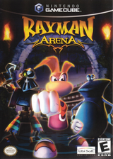 Rayman Arena GameCube cover (GRYE41)