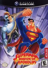 Superman: Shadow of Apokolips GameCube cover (GSUE70)