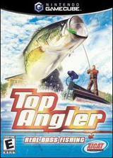 Top Angler:Real Bass Fishing GameCube cover (GTAE5S)