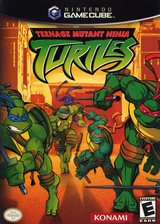 Teenage Mutant Ninja Turtles GameCube cover (GTFEA4)
