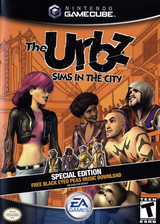 The Urbz: Sims in the City GameCube cover (GUBE69)