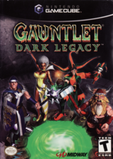 Gauntlet: Dark Legacy GameCube cover (GUNE5D)
