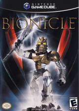 Bionicle GameCube cover (GVOE69)