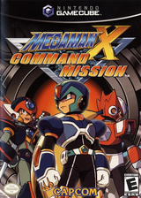 Mega Man X: Command Mission GameCube cover (GXRE08)