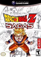 Dragon Ball Z: Sagas GameCube cover (GZEE70)