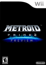 Metroid Prime 3 Preview Channel cover (HAWE)