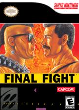Final Fight VC-SNES cover (JA8E)
