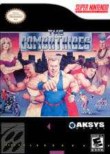 The Combatribes VC-SNES cover (JC7E)