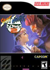 Street Fighter Alpha 2 VC-SNES cover (JDCE)