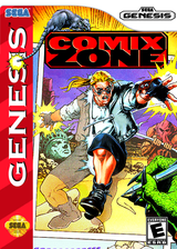 Comix Zone VC-MD cover (MAPE)