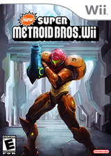 New Super Metroid Bros. Wii CUSTOM cover (METE01)