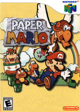 Paper Mario VC-N64 cover (NAEE)