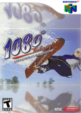 1080° Snowboarding VC-N64 cover (NAOE)