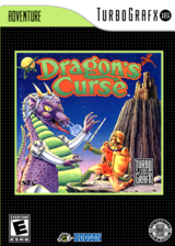 Dragon's Curse VC-PCE cover (PAKE)