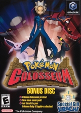 Pokémon Colosseum Bonus Disc GameCube cover (PC6E01)