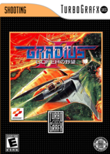 Gradius II Gofer No Yabou VC-PCE cover (QADN)
